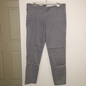 H & M checkered business pant NWOT